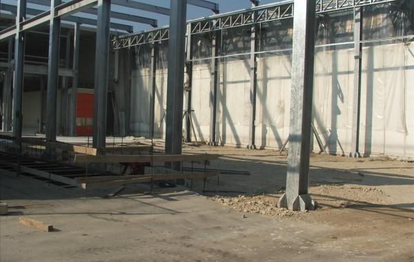Strutture prefabbricate in acciaio