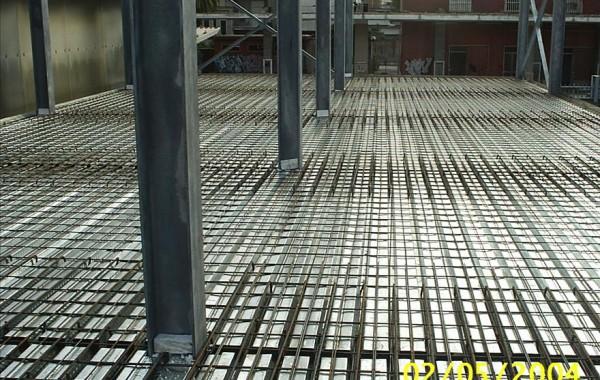 Struttura in acciaio prefabbricato